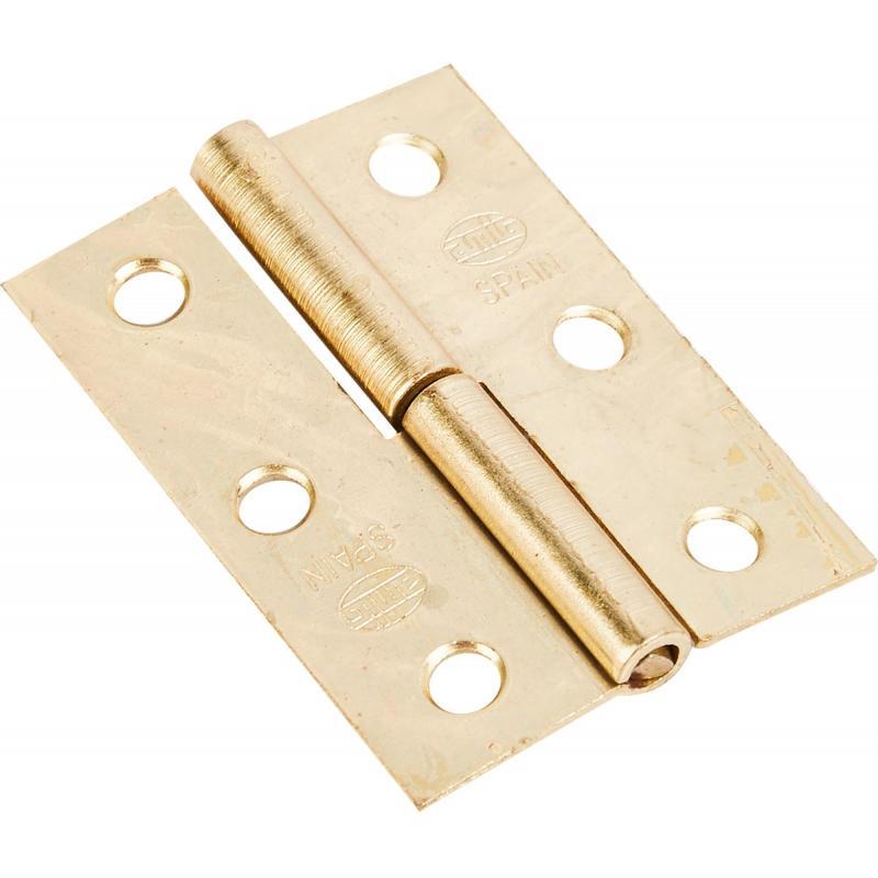 Петля мебельная карточная съёмная правая Amig 540, 50х35 мм, сталь, цвет золото