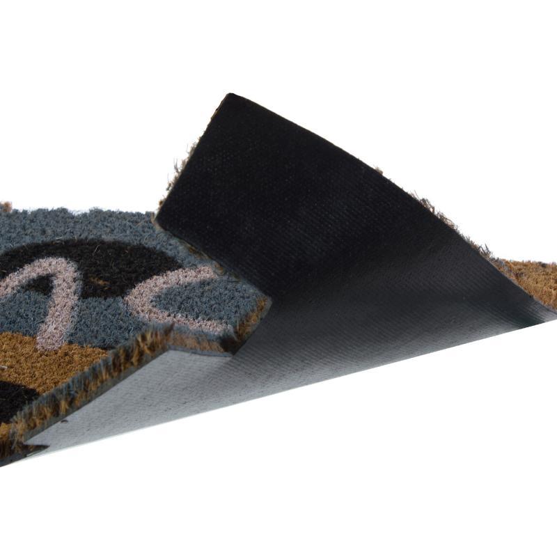 Коврик придверный «Sweet Home» кокос 40х75 см цвета микс