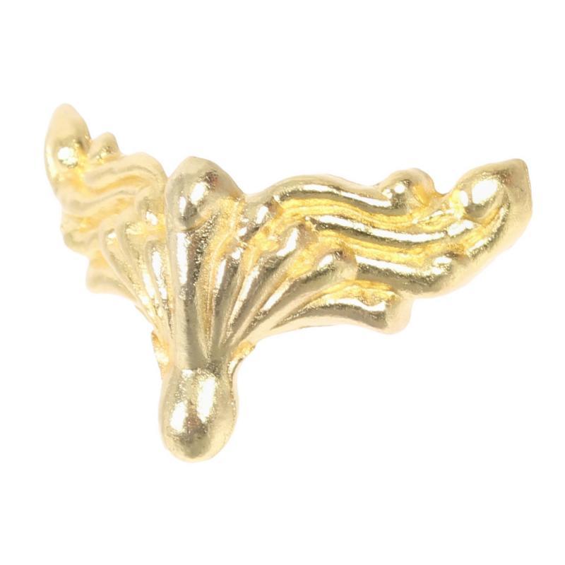 Ножка для шкатулок «Крылья» 20x36 мм цвет золото, 4 шт.