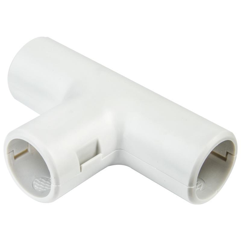 Угол для труб Т-образный сборный Экопласт D16 мм, 5 шт.