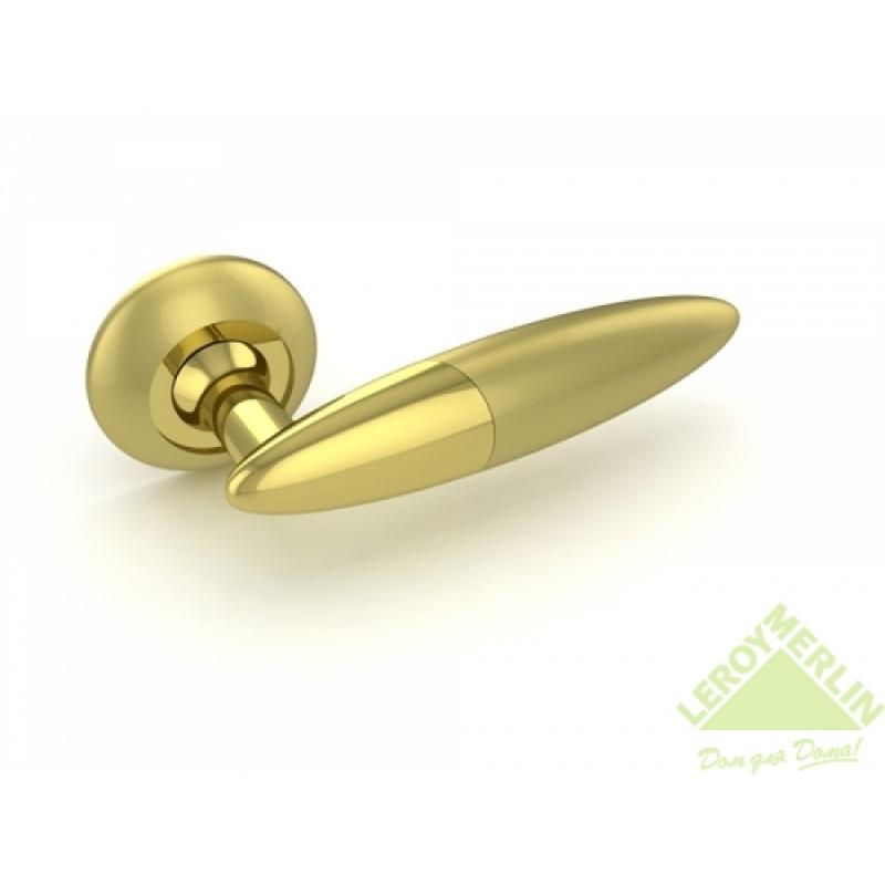 Ручка раздельная SOLO RM SG/GP-4, золото матовое