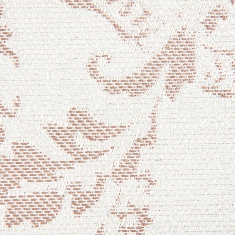 Ткань 1 п/м «Дамаск», жаккард, 285 см, цвет бежевый
