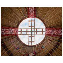Картина без рамы «Шанырак» 40х50 см