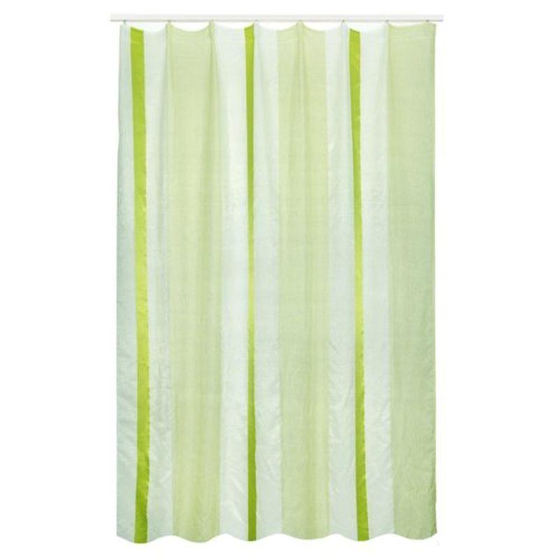 Тюль на ленте «Скопелло» 180х260 см цвет зелёный