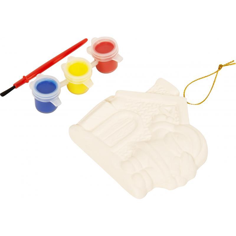 Набор для детского творчества «Снеговик с домиком»