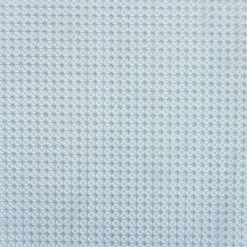 Тюль 1 п/м «Кассиопея», 280 см, цвет серебристый