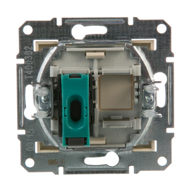 Розетка компьютерная Schneider Electric Sedna, цвет бежевый