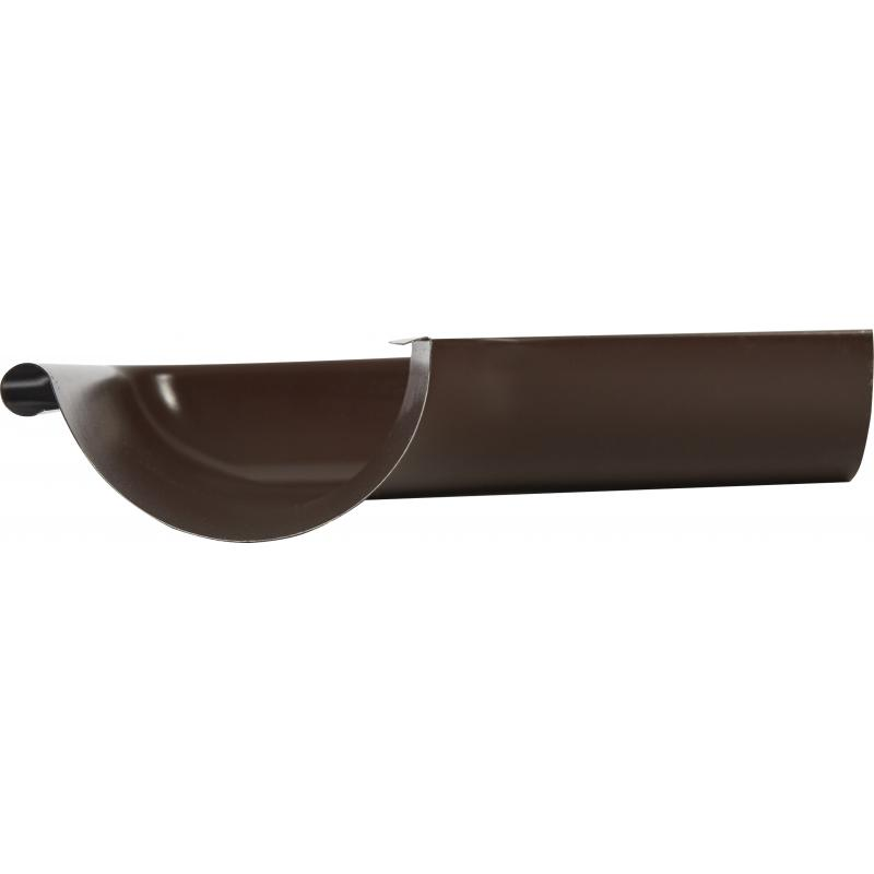 Угол желоба на 90° внешний цвет коричневый
