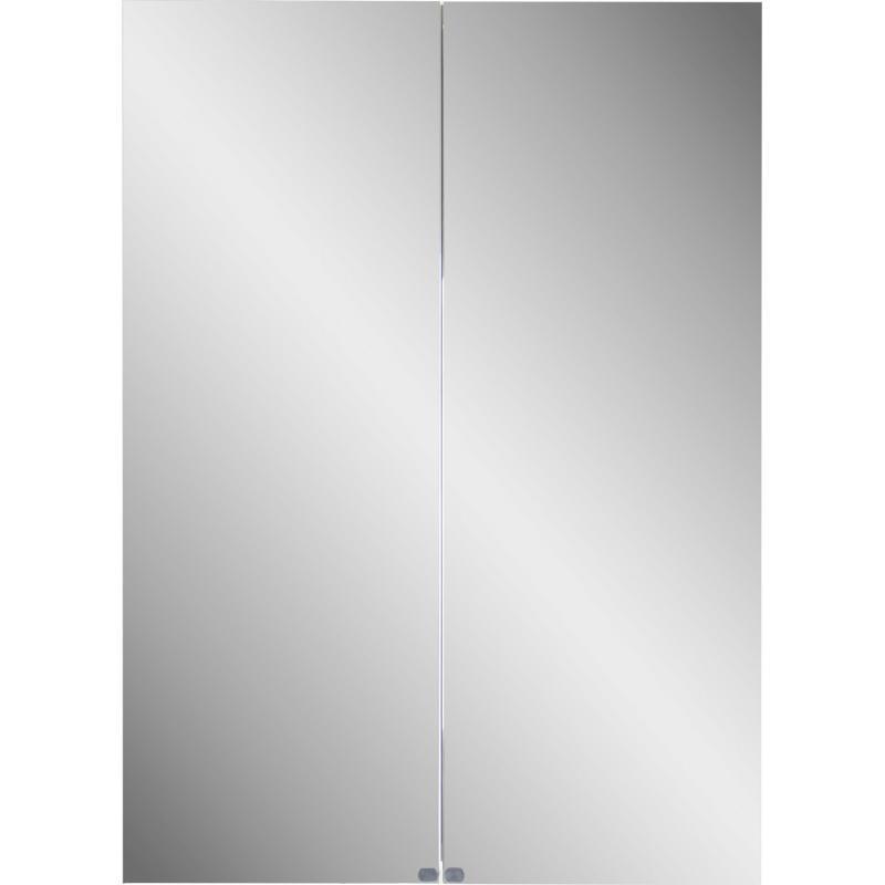 Шкаф зеркальный «Дана» 70 см, цвет белый