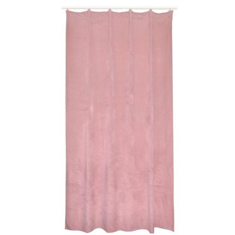 Штора на ленте «Треви» 140х260 см цвет розовый