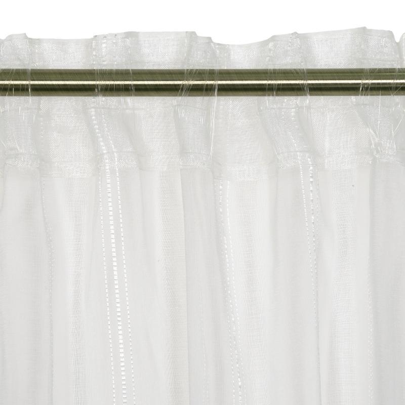 Тюль на ленте «Лиза» 300х280 см цвет экрю