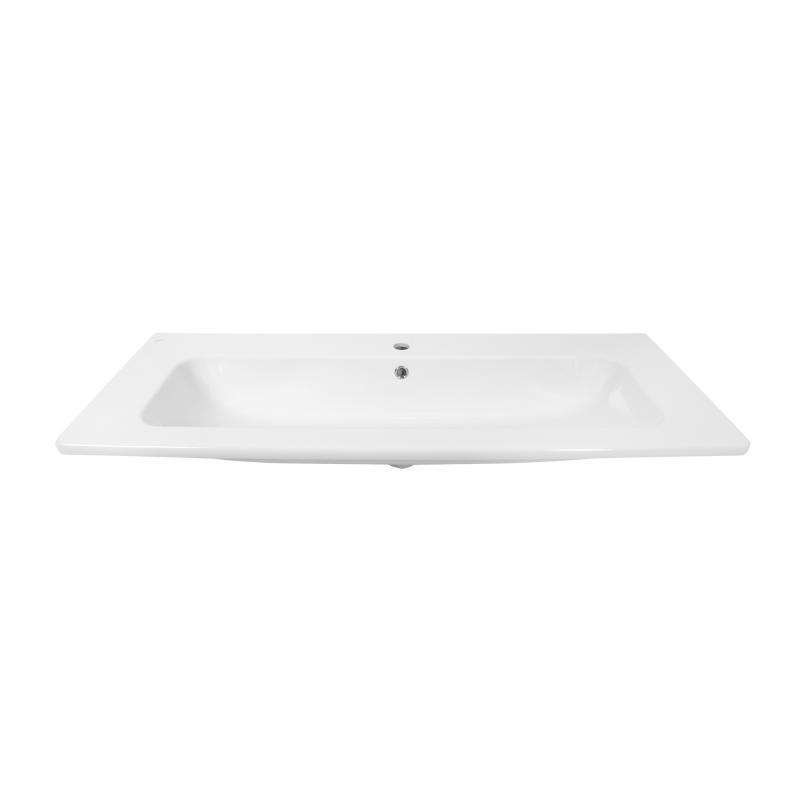 Раковина «Эйфория», 120 см, эмалированная керамика, цвет белый