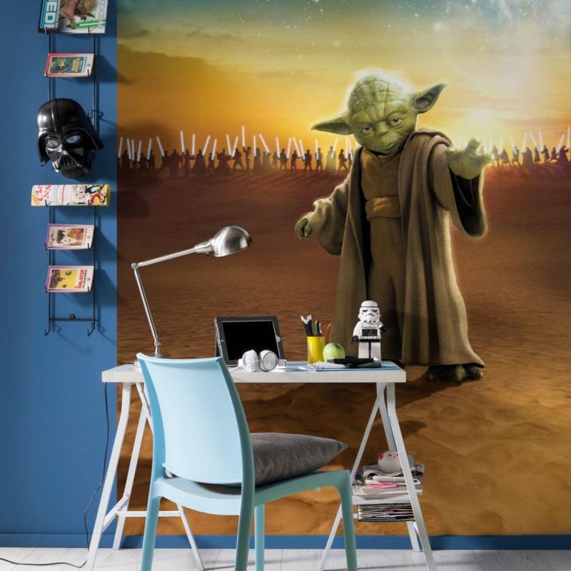 Фотопанно бумажное «Star Wars Yoda», 184х254 см