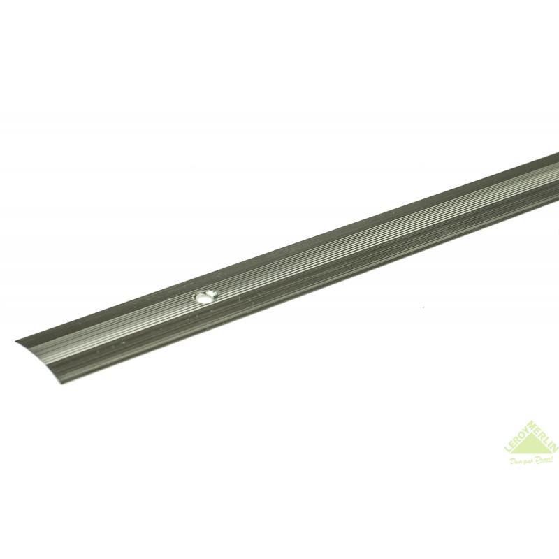 Порог алюминиевый Стык-163 натуральный, 1000x28 мм