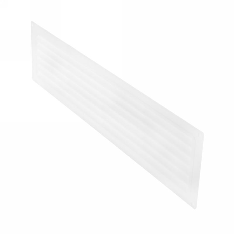Решетка дверная вентиляционная Вентс МВ 450, 462x124 мм, цвет белый