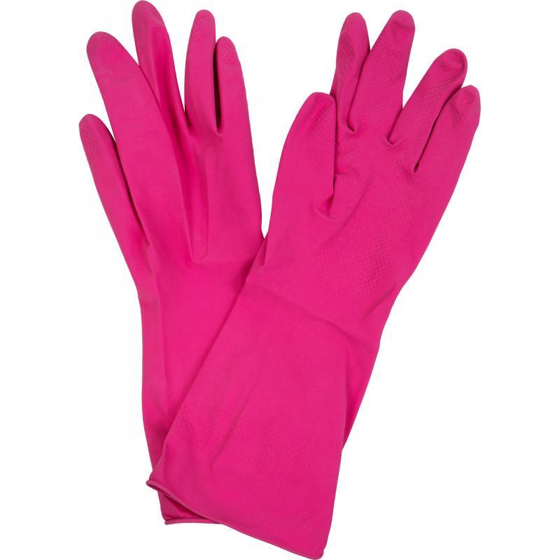 Перчатки Unibob размера М с напылением латекс