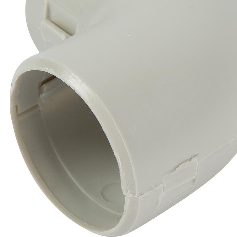 Угол для труб Т-образный сборный Экопласт D32 мм, 1 шт.