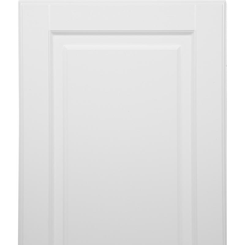 Дверь для шкафа Delinia «Леда белая» 30x70 см, МДФ, цвет белый