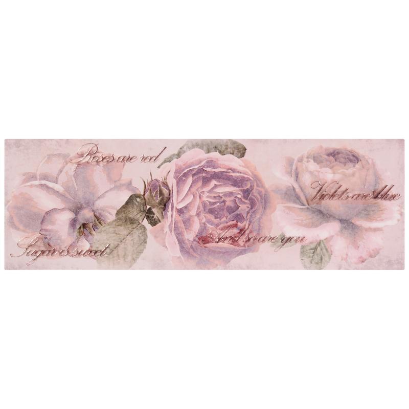 Вставка Ravenna «Цветок многоцветный» 20x60 см