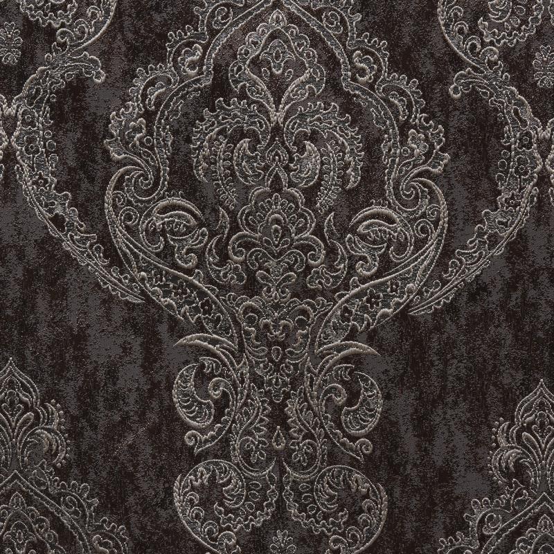 Ткань 1 п/м «Дамаск», жаккард, 280 см, цвет коричневый
