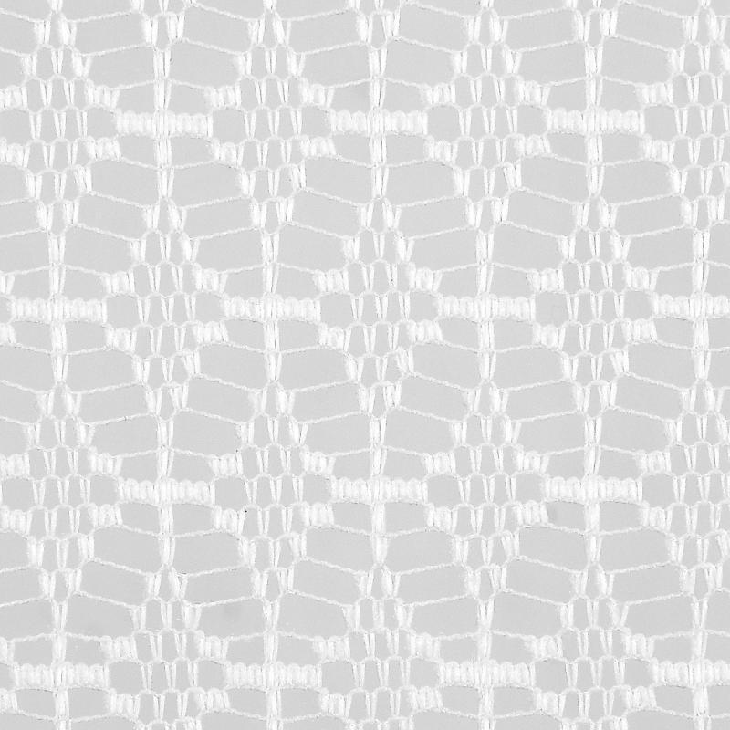 Тюль 1 п/м, жаккард, 200 см, цвет белый