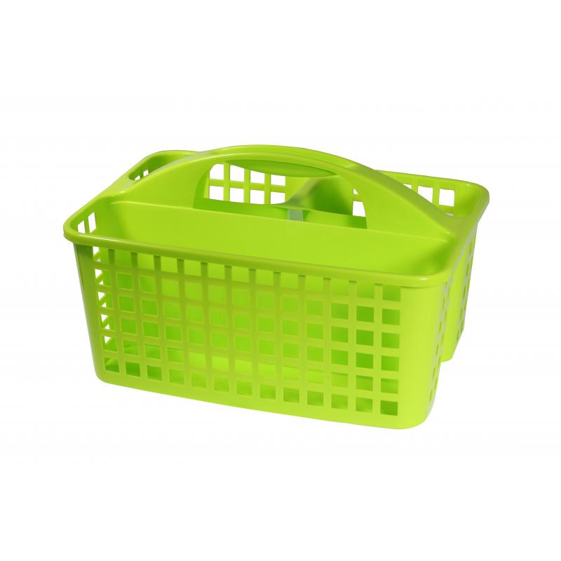 Органайзер-переноска, 230х185х310 мм, пластик, цвет салатовый