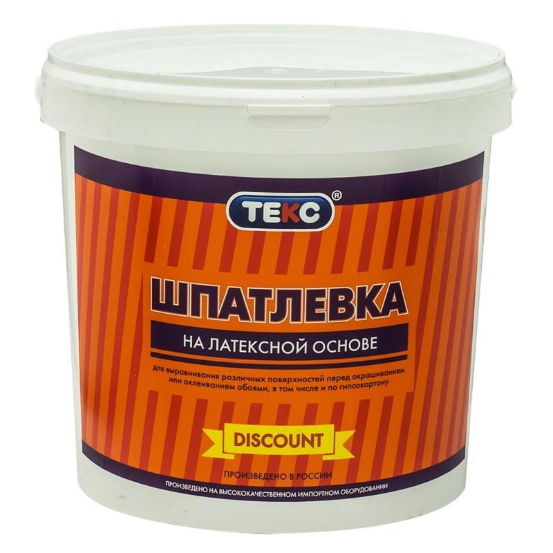 Шпаклевка латексная Текс 5кг