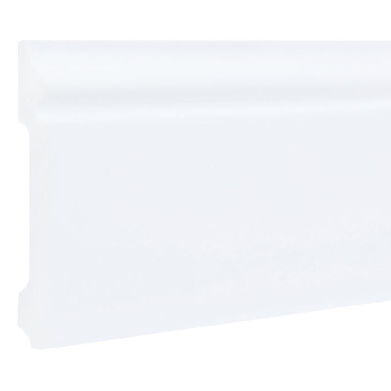 Плинтус напольный FL2 ударопрочный, 120x15 мм, длина 2 м