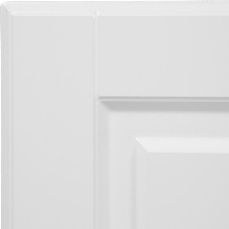 Дверь для шкафа Delinia «Леда белая» 33x92 см, МДФ, цвет белый