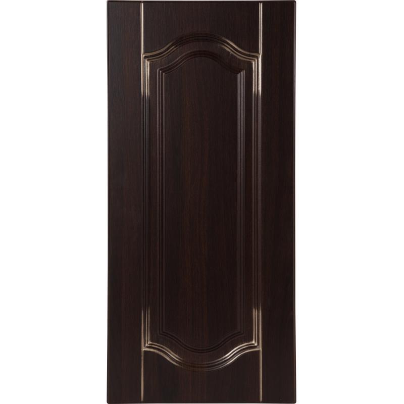 Дверь для кухонного шкафа «Византия», 33х92 см, цвет тёмно-коричневый