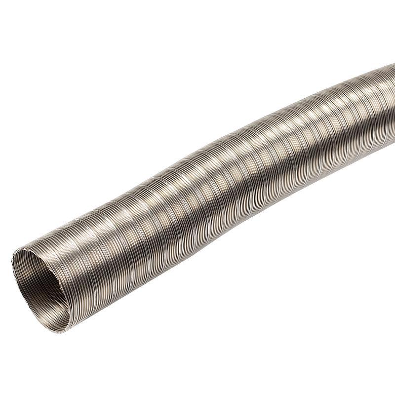 Воздуховод гибкий стальной D113мм L1,5м