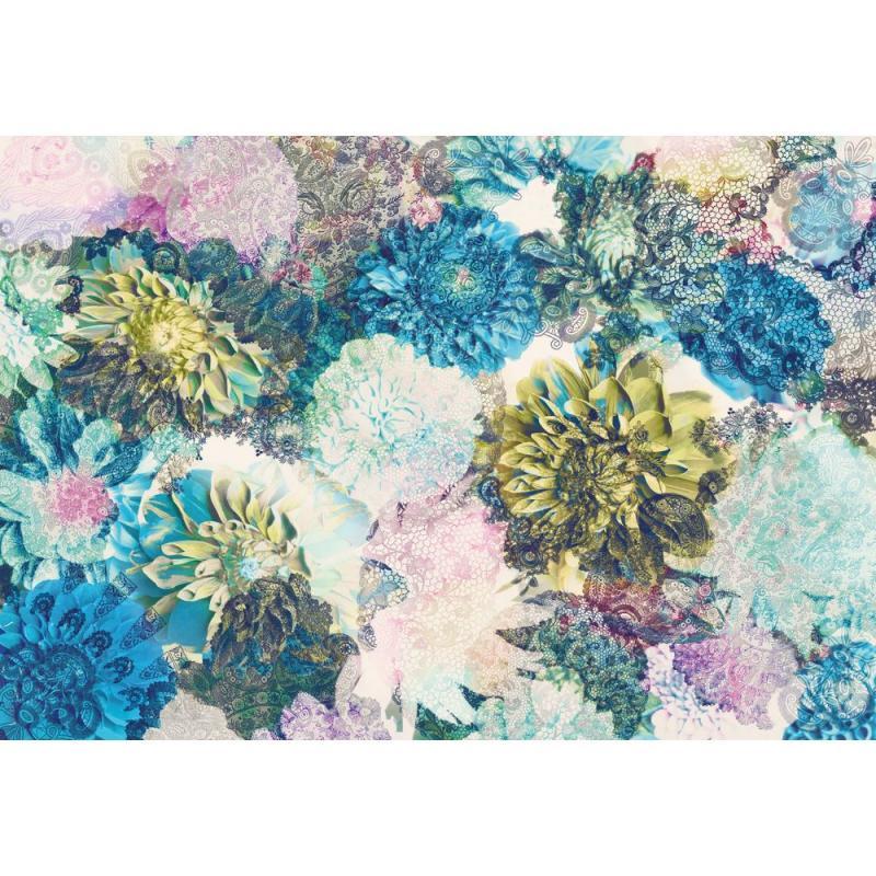 Фотопанно бумажное «Frisky Flowers» 368х254 см