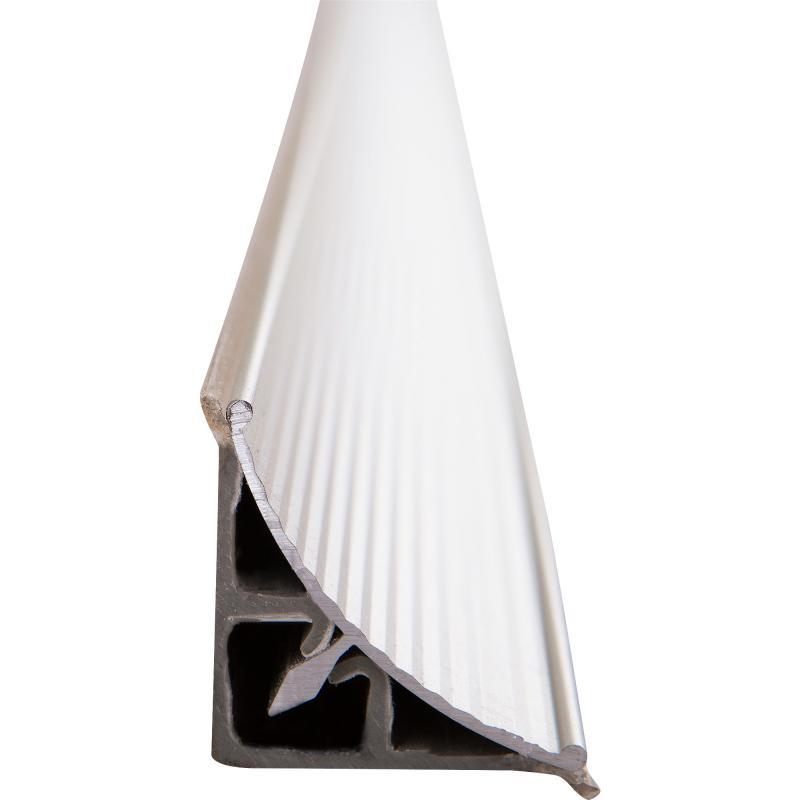 Плинтус  для столешницы 3.05 м цвет алюминий