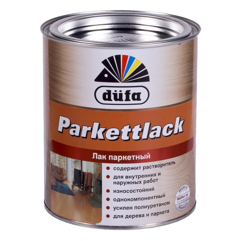 Лак паркетный глянцевый Dufa Parkettlack 0.75 л
