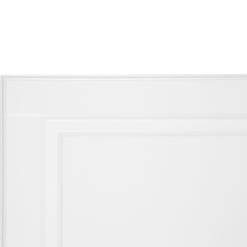 Дверь для шкафа Delinia «Леда белая» 60x130 см, МДФ, цвет белый