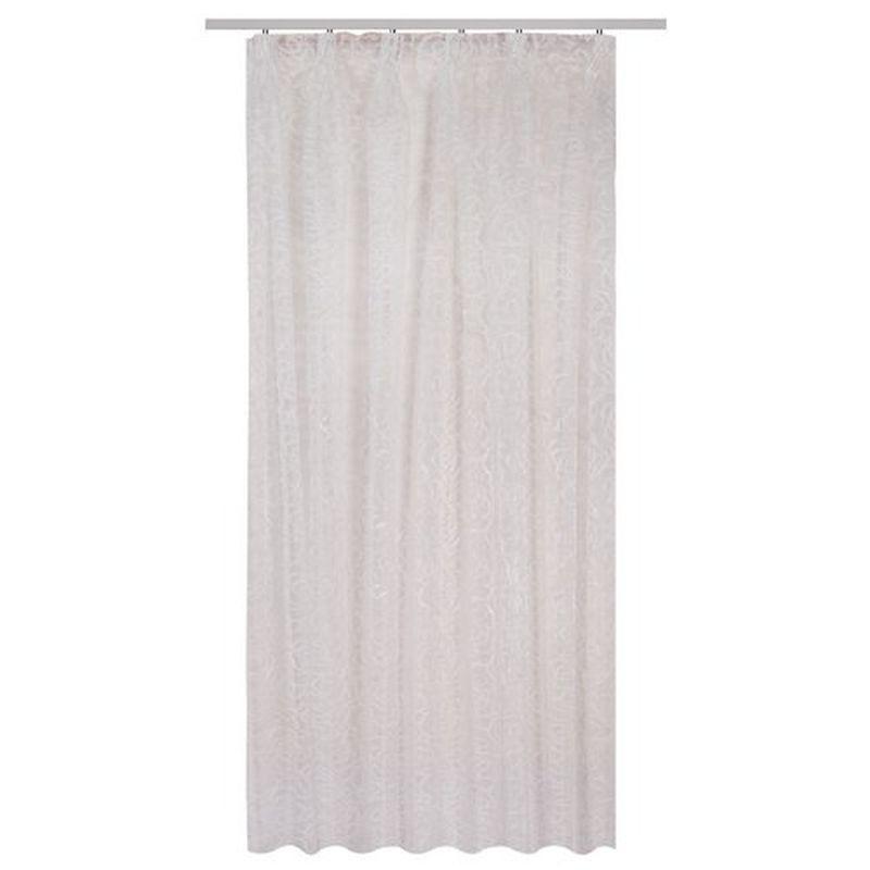Тюль на ленте «Соларо» 300х260 см цвет белый