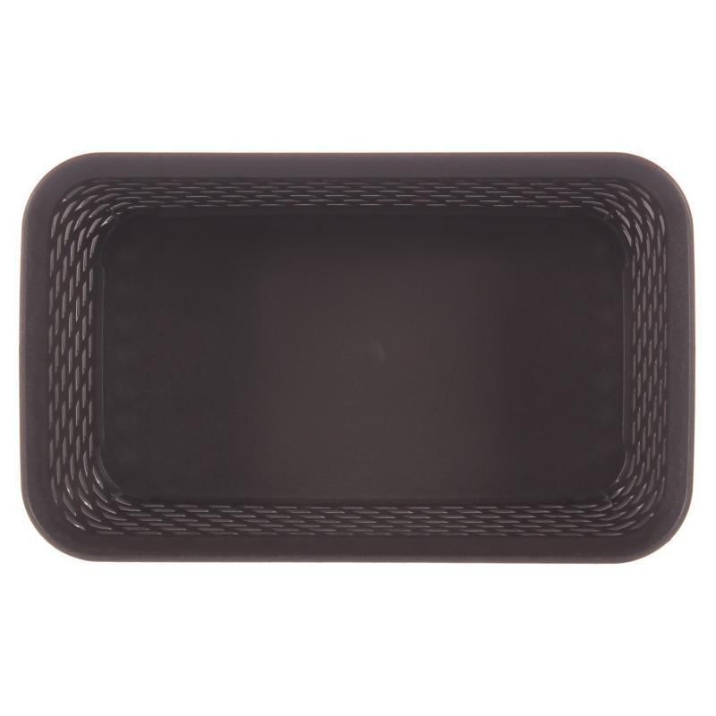 Корзина для хранения «Ротанг», 2.2 л, 24х15х10 см, цвет коричневый