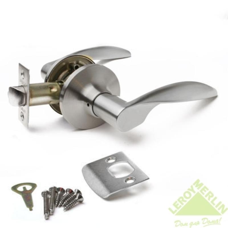 Ручка-защёлка межкомнатная Apecs 8020-05-S (сатин)