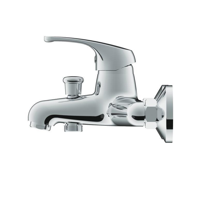 Смеситель для ванны H2O by Damixa однорычажный цвет хром