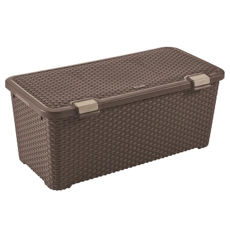Ящик Curver Style 72 темно-коричневый