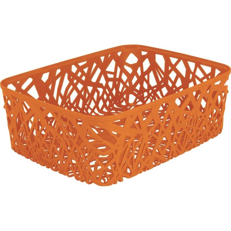 Корзинка прямоугольная Curver Neo оранжевая