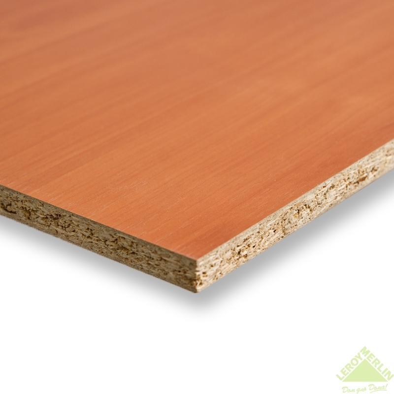 Панель мебельная без кромки 2720х1200х16 мм цвет вишня