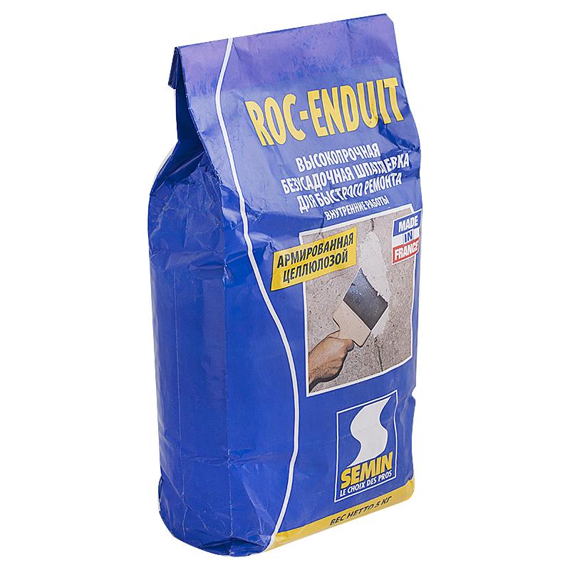 Шпаклёвка для заделки швов Semin Roc Enduit, 5 кг