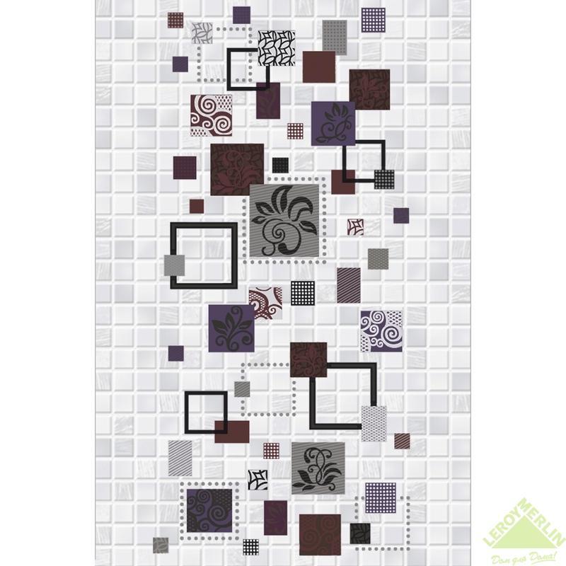 Декор Домино Матрица 1Д1, 20x30 см