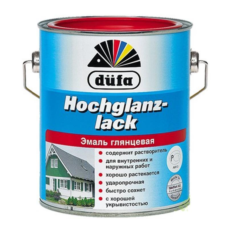 Эмаль Dufa Hochglanzlack глянцевая цвет белый 2.5 л