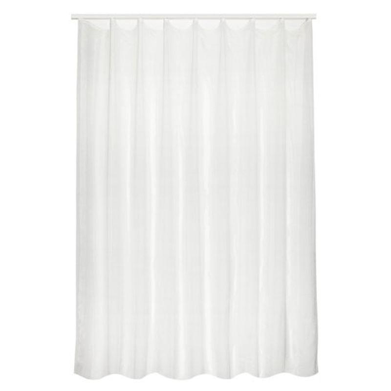 Тюль на ленте «Аверса» 300х260 см цвет белый