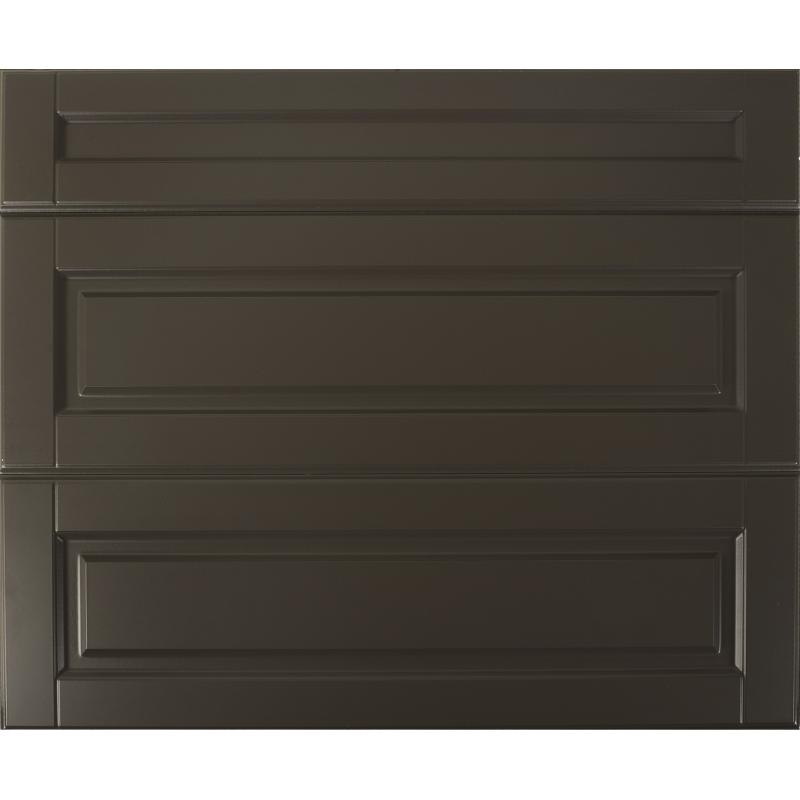 Двери для шкафа Delinia «Леда серая» 80x70 см, МДФ, цвет серый, 3 шт.