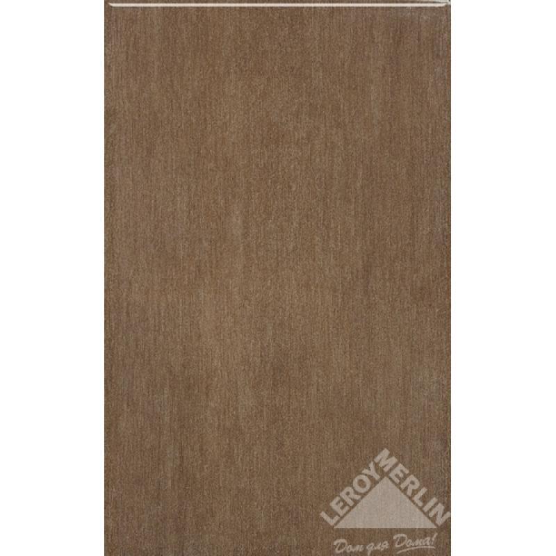 Плитка настенная Delfos marron, 25x40 см, 1,7 м2
