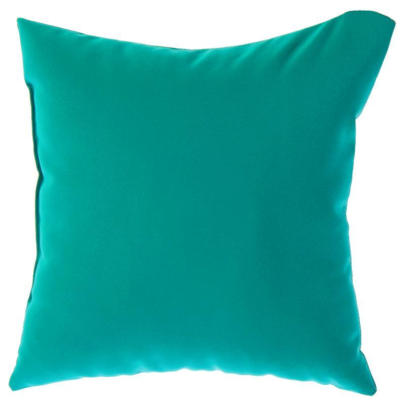 Подушка декоративная «Радуга» 40х40 см цвет изумрудный