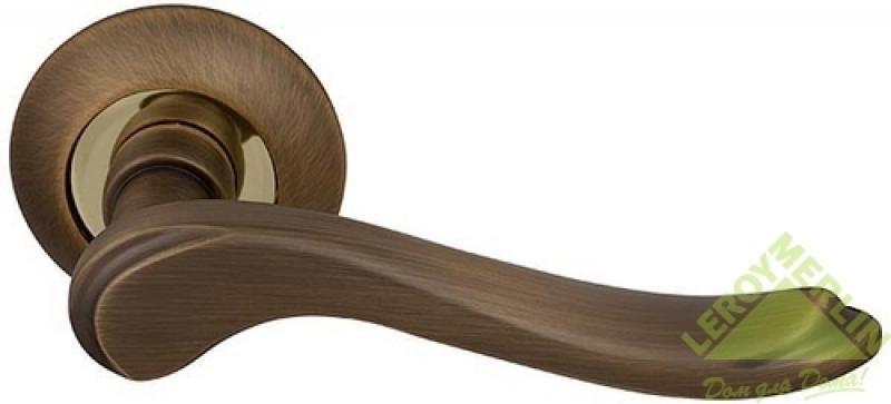 Ручка раздельная Grazia RM AB/GP-7, бронза